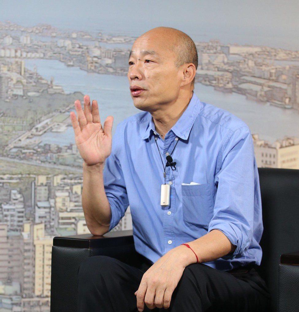 高雄市長韓國瑜表示,美日若邀訪,他一定會去。圖/報系檔案照片