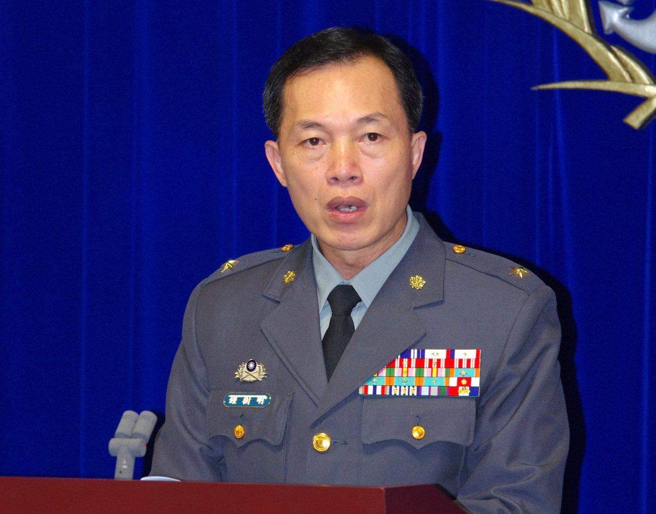 憲兵指揮部指揮官鍾樹明中將接任總統府侍衛長。圖/聯合報系資料照