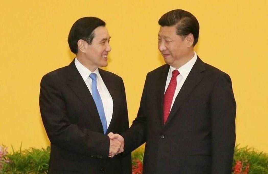 2015年馬習會,前總統馬英九(左)、中國國家主席習近平(右)。圖/聯合報系資料...