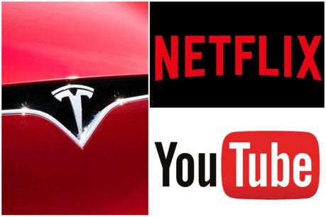 特斯拉將是你的行動電影院 Tesla最快八月可串流Netflix、YouTube