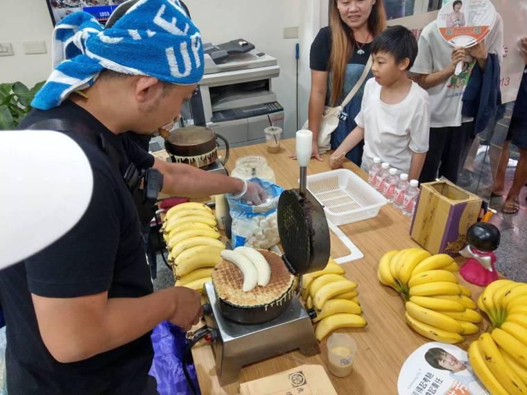 香蕉是台灣常見的水果。記者謝梅芬/攝影