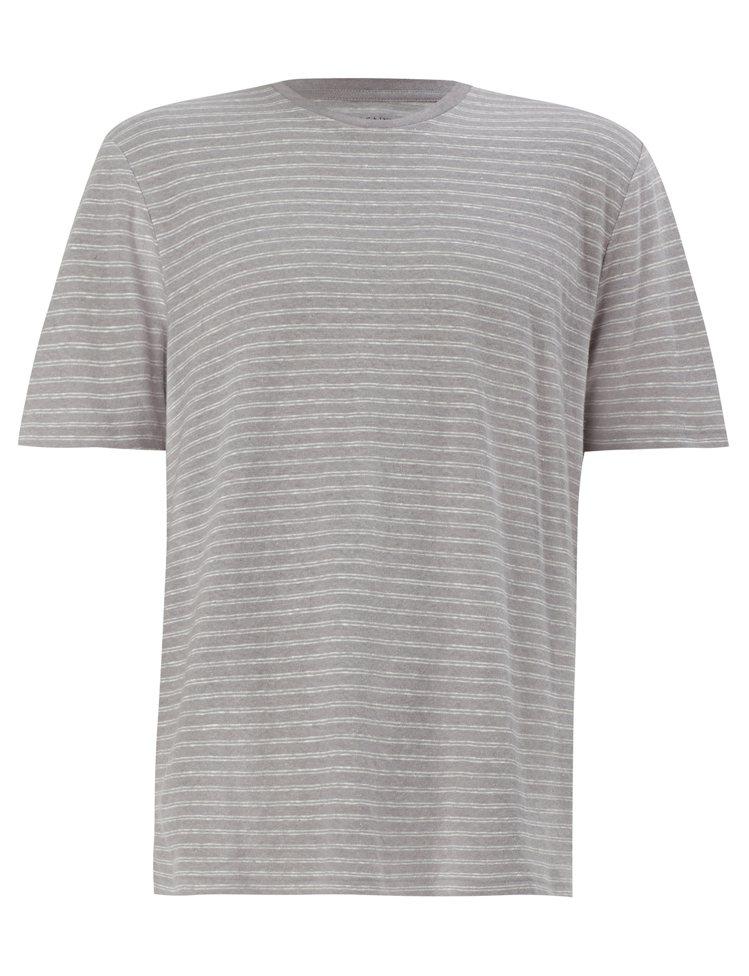 AllSaints Adrian條紋上衣,2.100元。圖/AllSaints提...