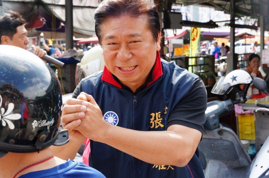 國民黨內定徵召張顯耀參選台中第一選區立委。圖/聯合報系資料照