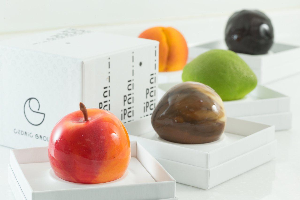 Cédric Grolet最新2.0版水果甜點來台快閃。記者陳立凱/攝影