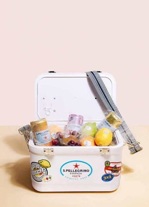 品嘗聖沛黎洛與店家推出限量餐點,打卡再抽限量訂製小冰箱。圖/聖沛黎洛提供