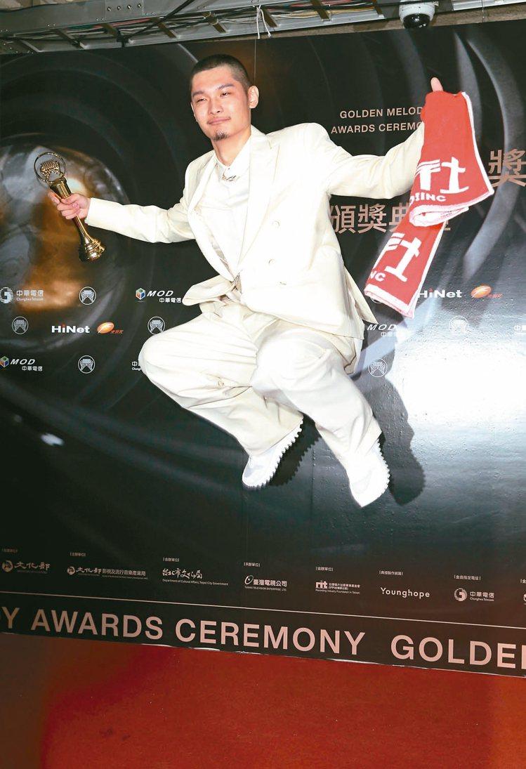 第30屆金曲獎,最佳國語男歌手獎由Leo王獲得。 圖/聯合報系資料照片