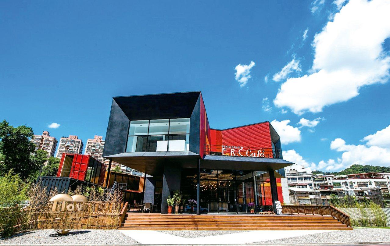 莊政儒主導的咖啡店內,飲品與餐點也都相當用心。 圖/達永建設提供