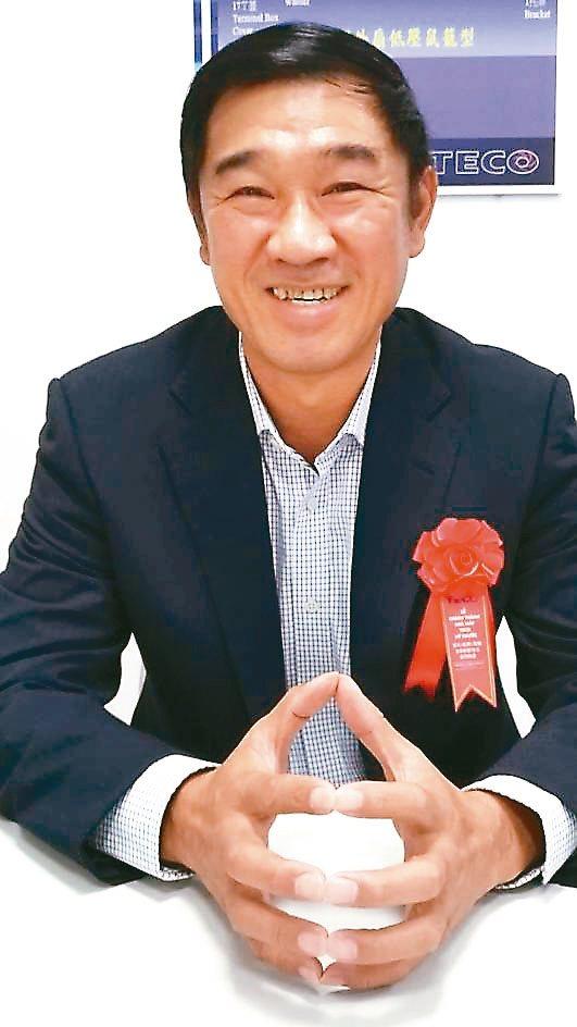 越南台灣商會聯合總會總會長沈憲煜。記者張義宮/攝影