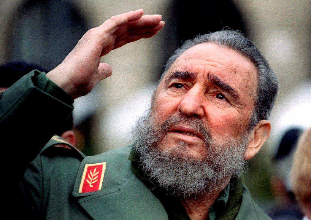 古巴已故總統卡斯楚。(路透)
