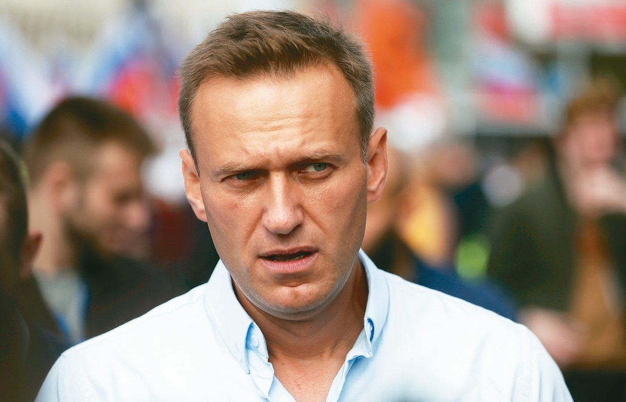 俄羅斯反對派領袖納瓦尼。 歐新社