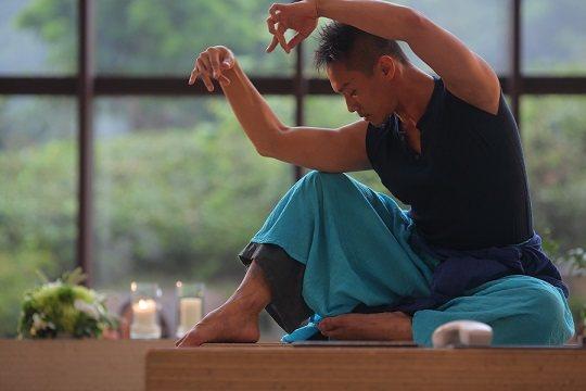 動靜皆安然的張逸軍老師。 中華佛教青年會/提供