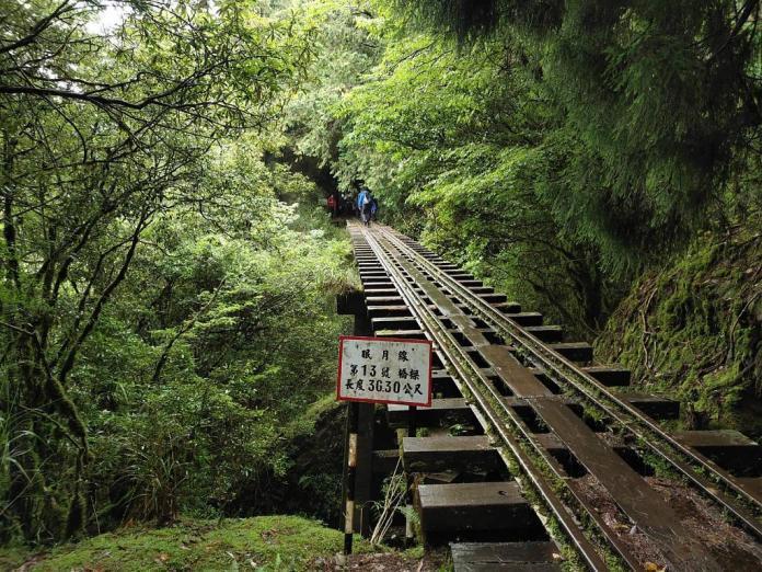 ▲阿里山景點新玩法-眠月線鐵道。(圖/Tripbaa趣吧!亞洲自由行專家)