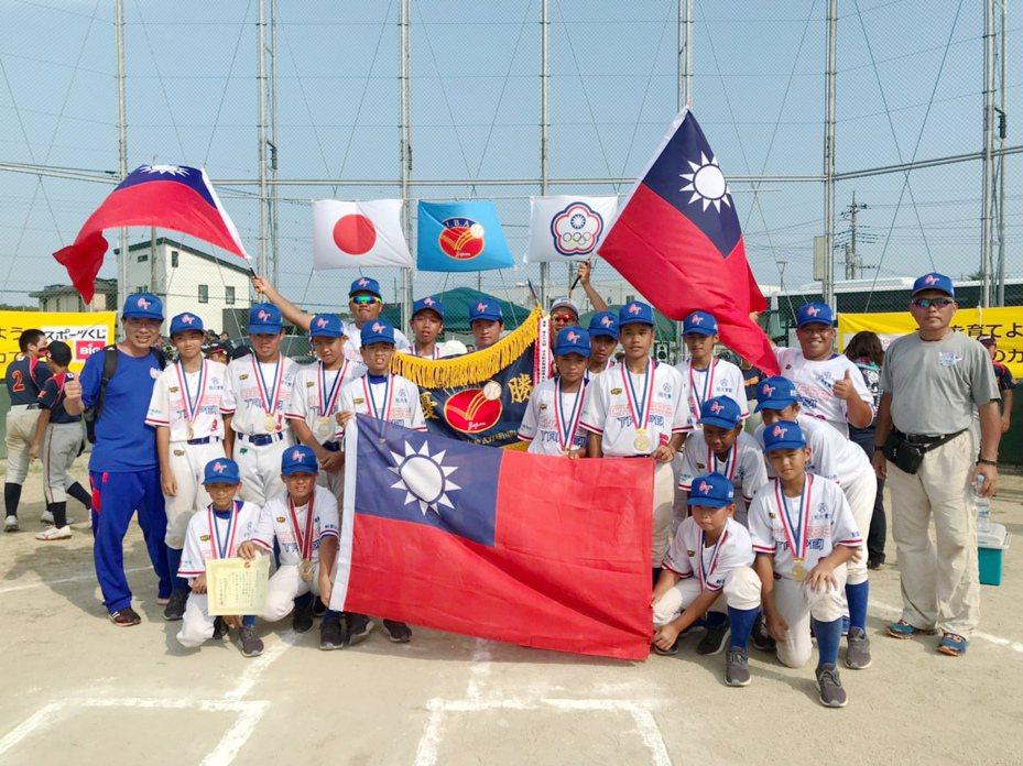 中華隊奪下隊史第12冠。圖/學生棒聯提供