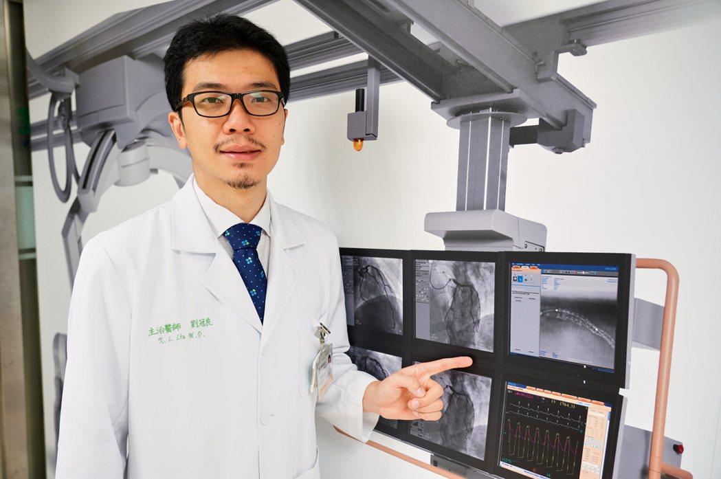 聯新國際醫院心臟內科主治醫師劉冠良表示,夏季也是心血管疾病發作的高峰期,千萬不能...