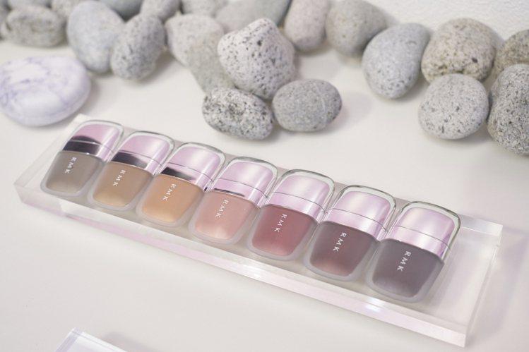 RMK經典石采眼蜜全7色/售價1,350元。圖/RMK提供
