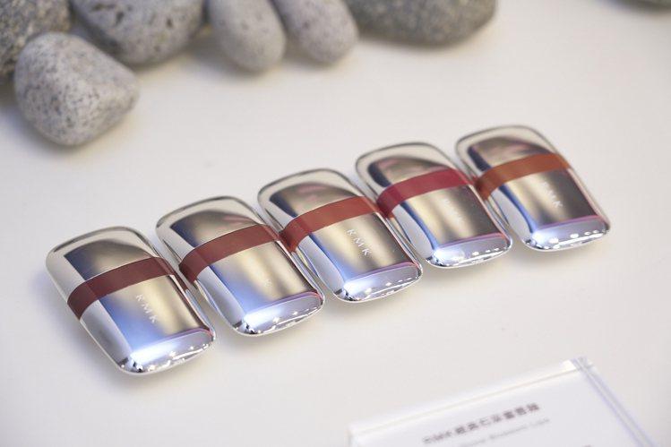 RMK經典石采蜜唇釉全5色/售價1,350元。圖/RMK提供