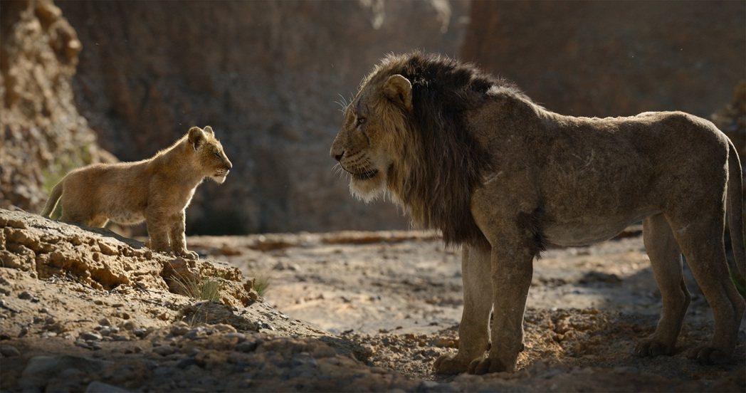 「獅子王」是近期最賣座的電影,票房已破9.6億美金(約新台幣298億)。圖/迪士...