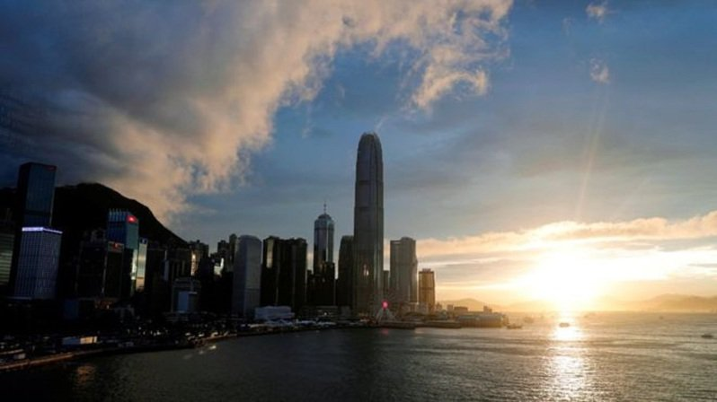 超過一半的美國商會成員對香港的前景感到悲觀。路透