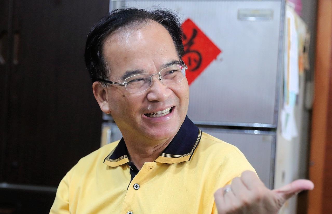 退出民進黨的蘇煥智經常對公共事務發表看法。 圖/翻攝自蘇煥智臉書