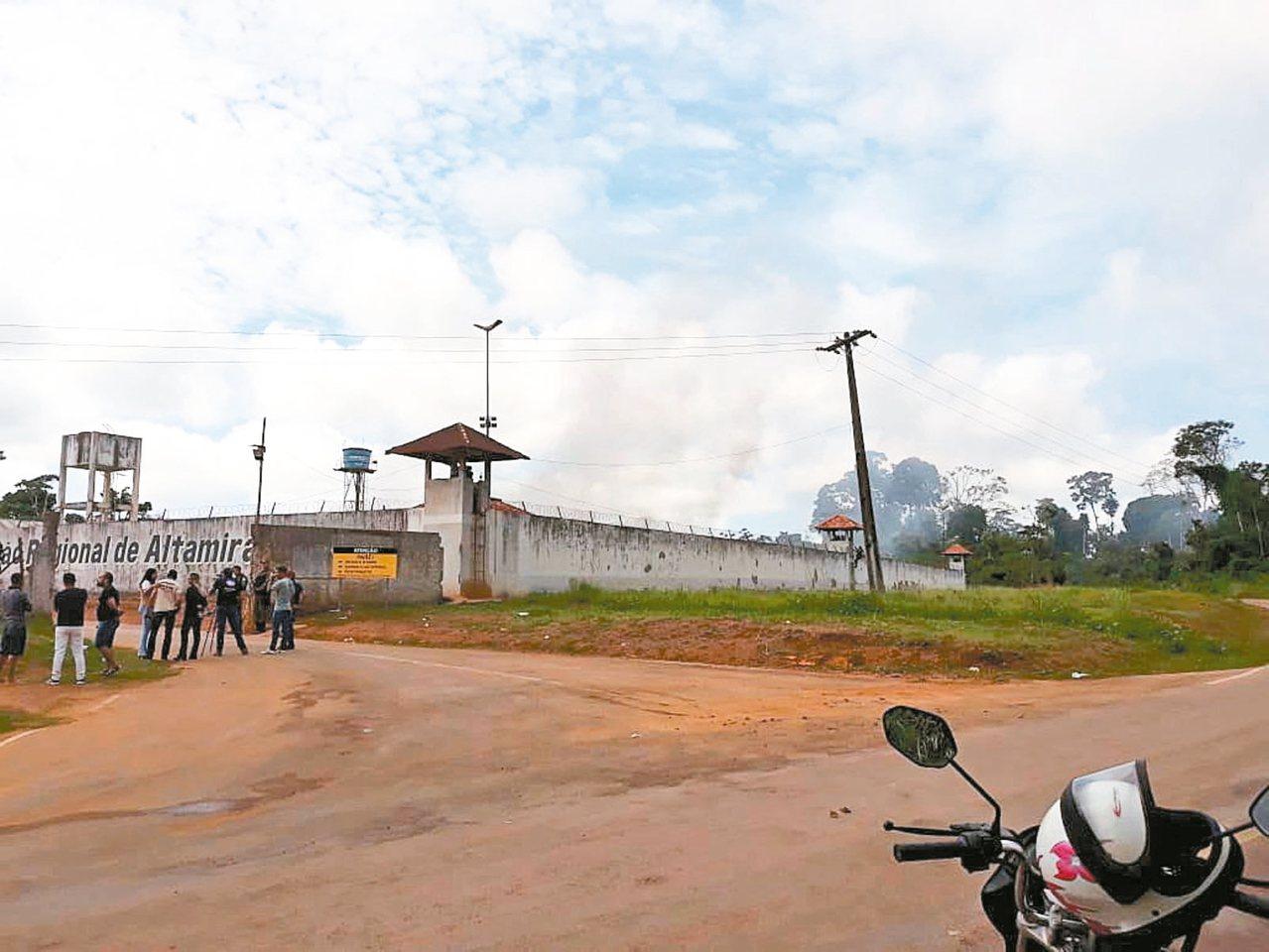 巴西巴拉州阿塔米拉市一所監獄爆發血腥衝突,至少57人慘死。 歐新社
