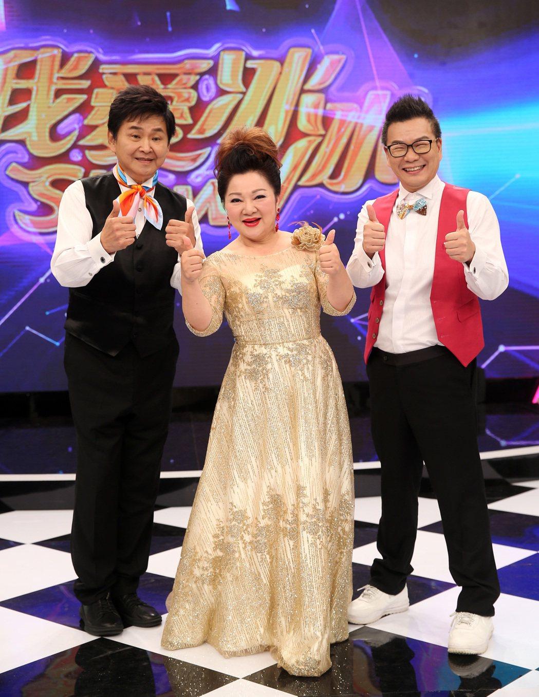 《我愛冰冰Show》在賀一航(左)過世後,沈玉琳(右)也約滿不主持。 圖/聯合報