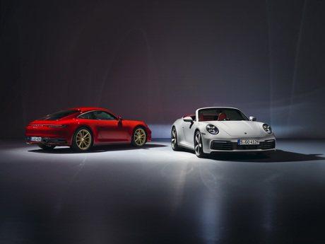 保時捷發表全新911 Carrera 及911 Carrera Cabriolet 台灣同步預售!