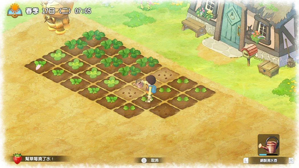 耕地開荒,接著播種澆水,讓作物生長,接著收成採收,這是最基本的農務工作。