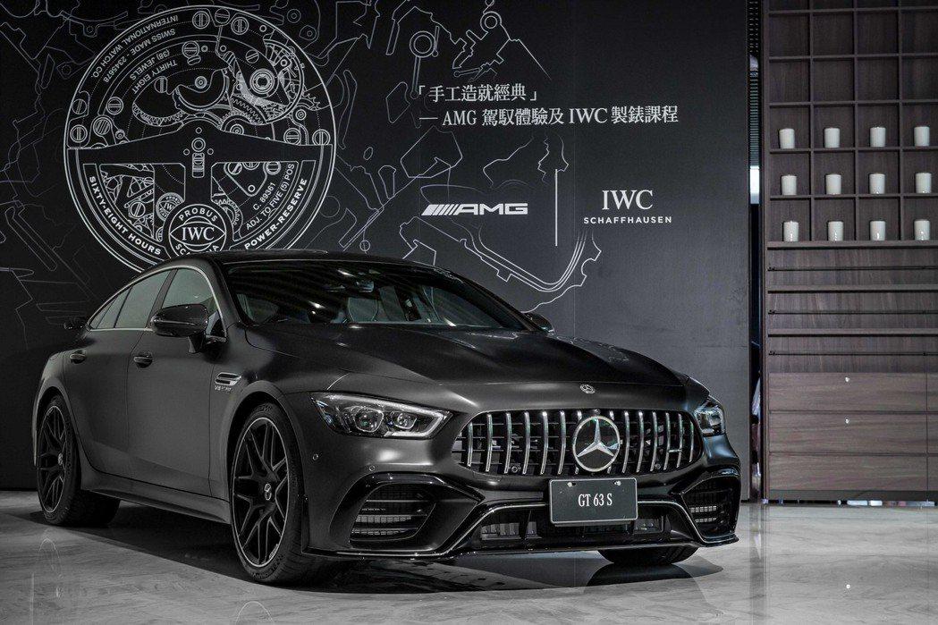 台灣賓士特別舉辦「手工造就經典」VIP體驗活動,表彰Mercedes-AMG與I...