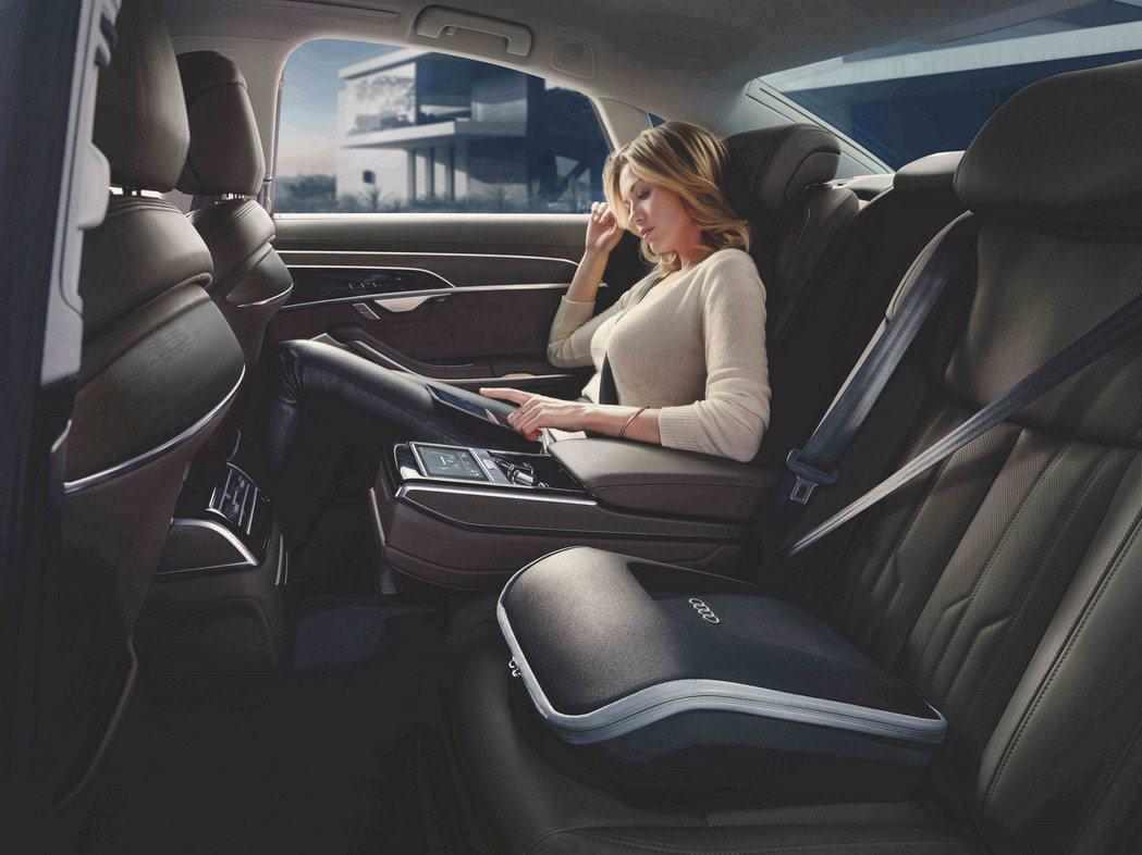 Audi A8後座相當舒適。 摘自Audi