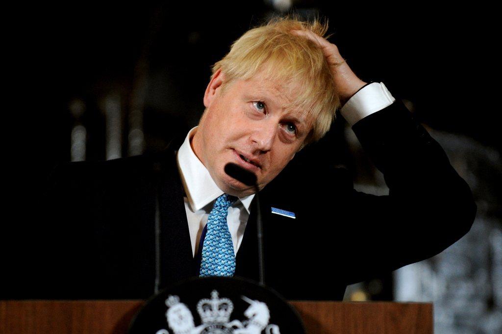 英國新任首相強森上任,面對華為將採何態度引外界注目。 圖/路透社