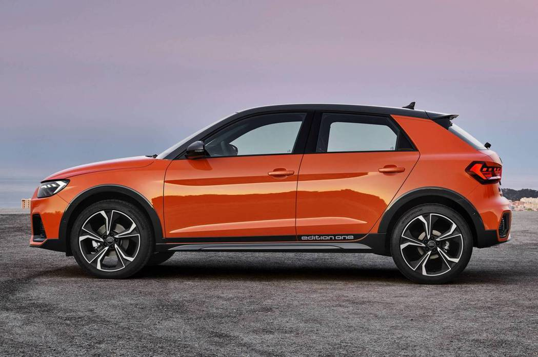 A1 Citycarver比A1 Sportback增加了40mm的底盤離地高度...