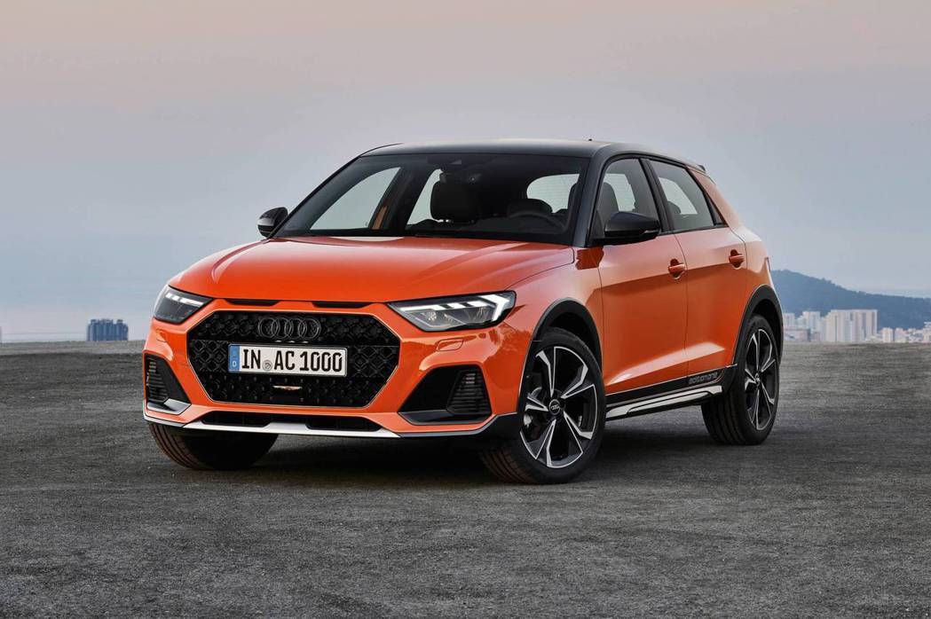 Audi A1 Citycarver Edition One。 摘自Audi