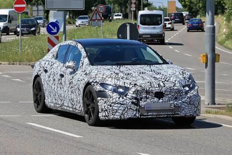賓士EQ車系再擴張 全新Mercedes-Benz電動旗艦EQS偽裝車現蹤!