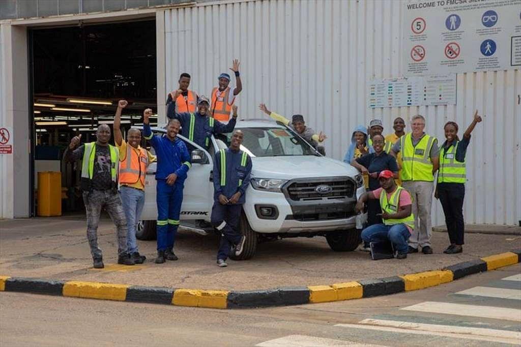 Ford汽車位於南非Silverton的新車生產基地將於8月初起增加第三班擴張產...