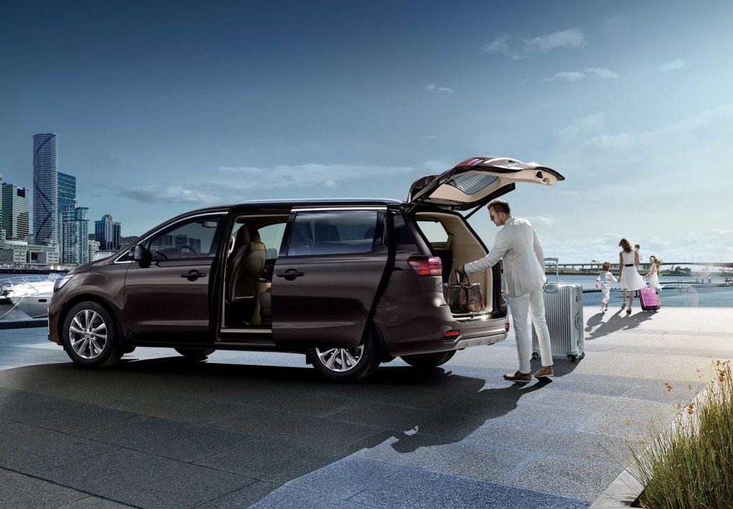 KIA All-New Carnival兼具大型MPV的車室空間及節能省油的油耗...