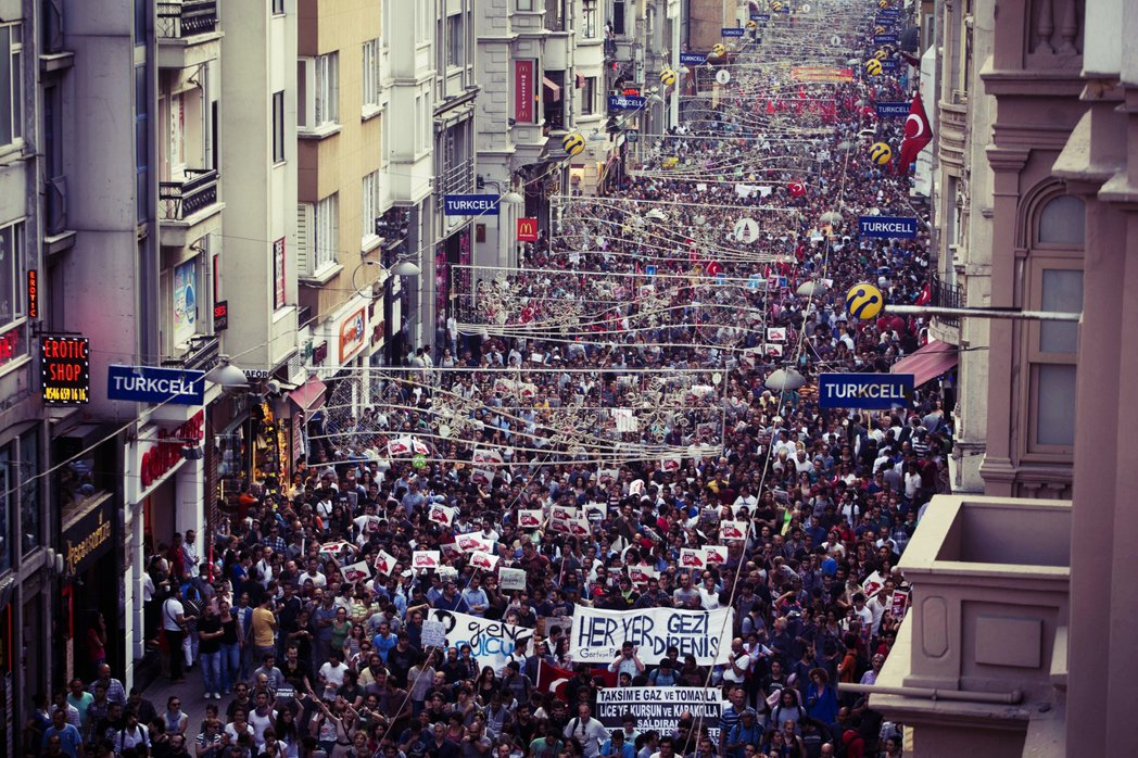 居爾與厄多安交惡的導火線,是居爾擔任總統時的「蓋齊公園事件」(Gezi Park...