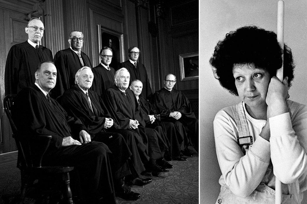 總共9位法官,本案破天荒於1972年10月進行二度言詞辯論,最終9名法官之中有6...