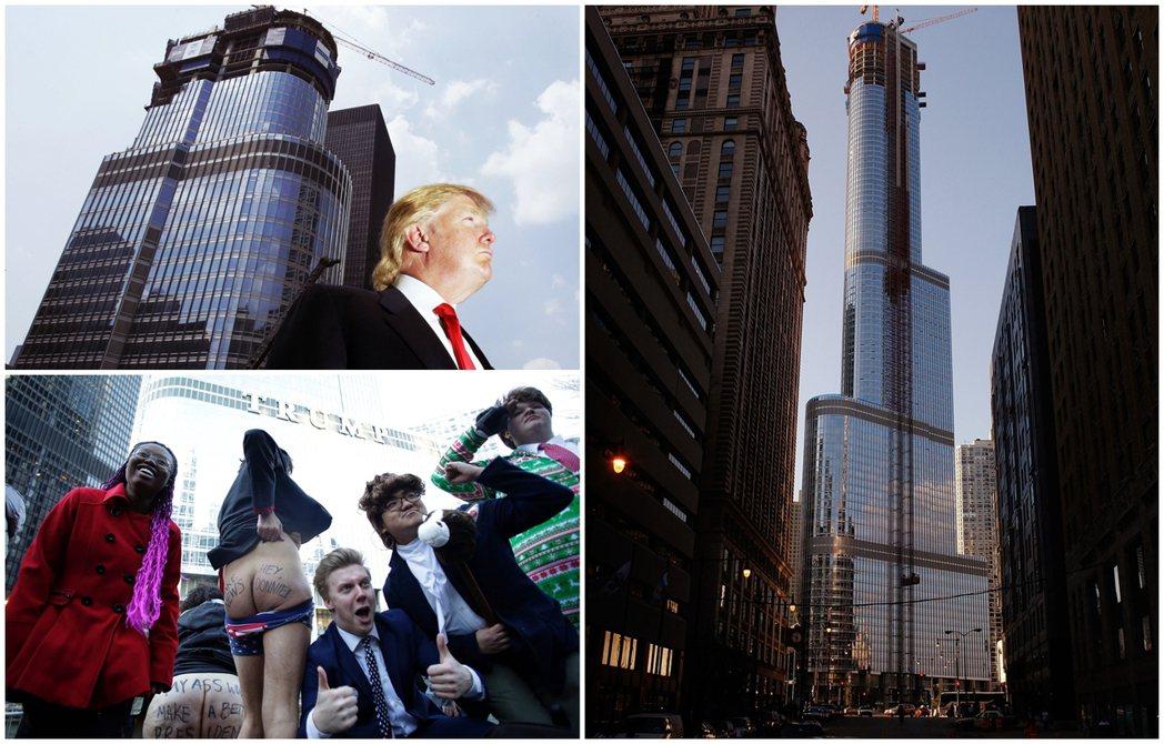 芝加哥的川普國際酒店大廈是川普的高樓帝國中,唯一一棟在建築設計上受到好評的。大廈...