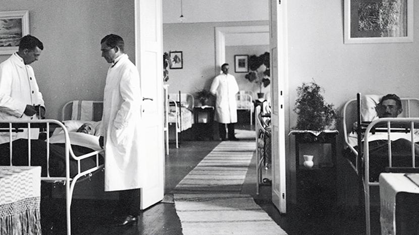 瑞典的精神疾病照護體系,是如何發展的呢? 圖/瑞典精神病史博物館