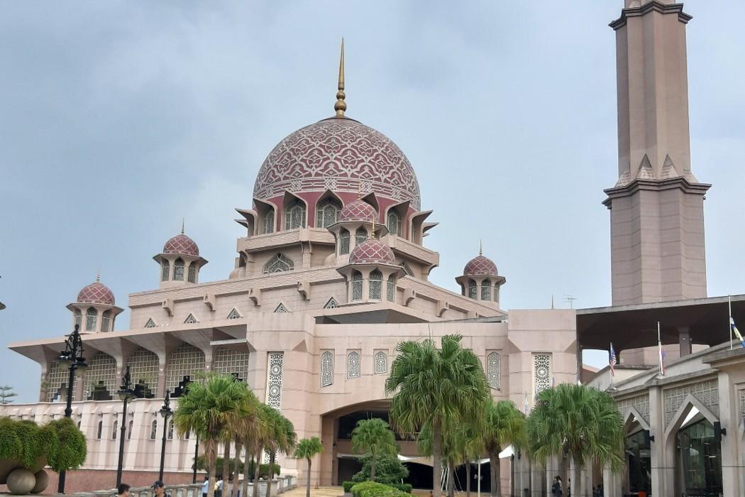 馬來西亞布城/美到不行的粉紅清真寺