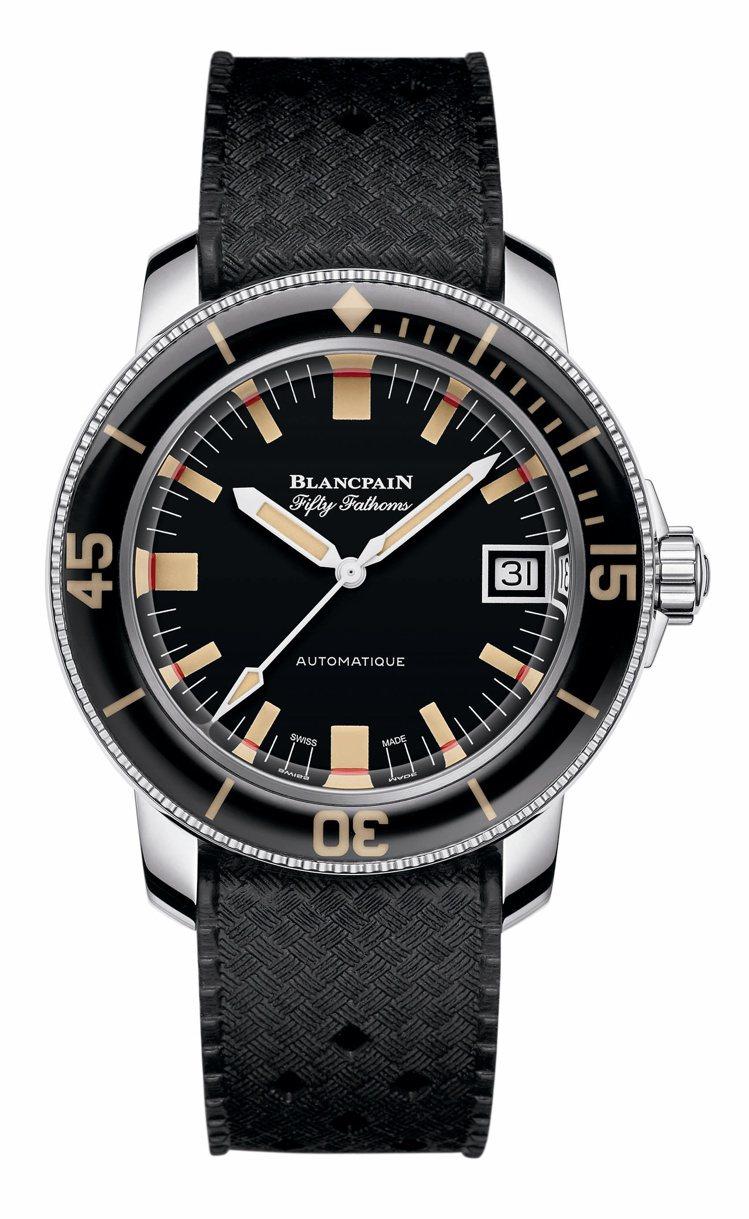 寶珀五十噚Barakuda腕表,不鏽鋼表殼,限量500只,約44萬9,000元。...