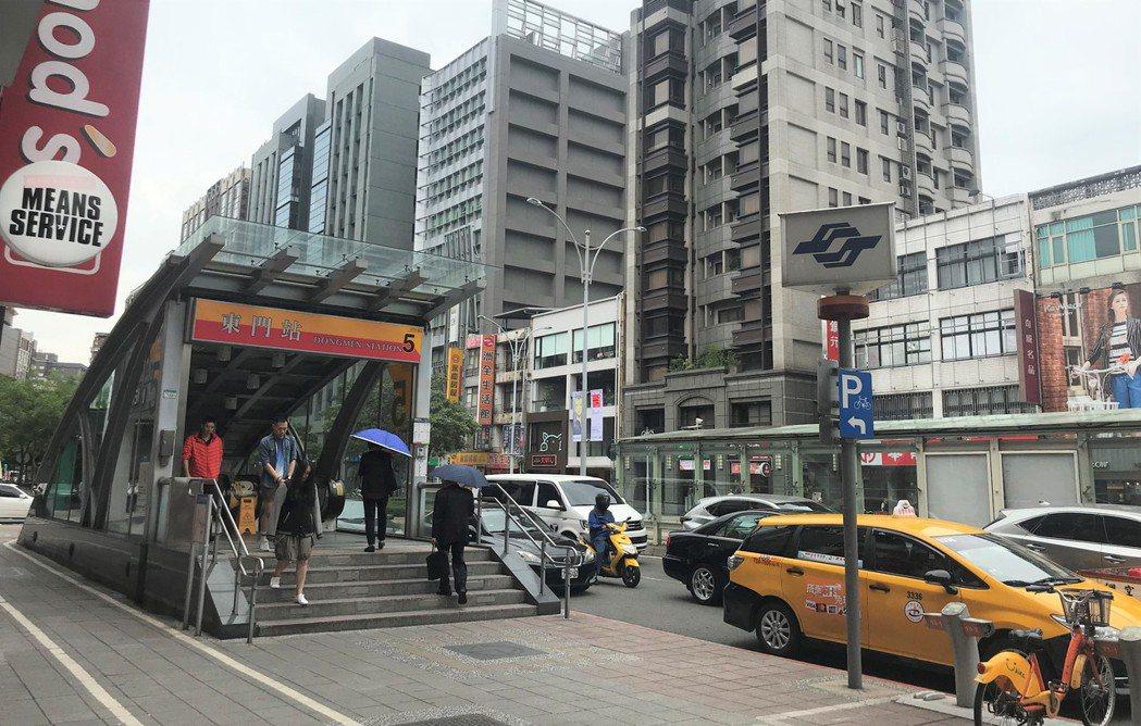 捷運東門站 記者游智文/攝影