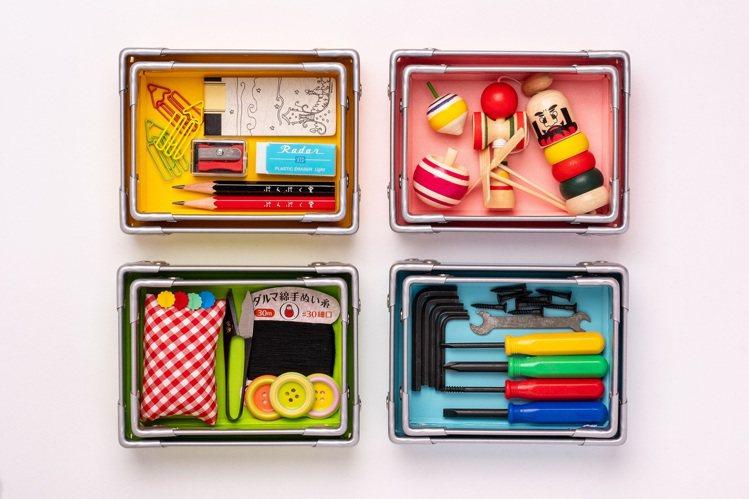 曾獲文具大賞的「ぷんぷく堂PUNPUKUDO」復古文具收納盒,推出全新糖果色,8...