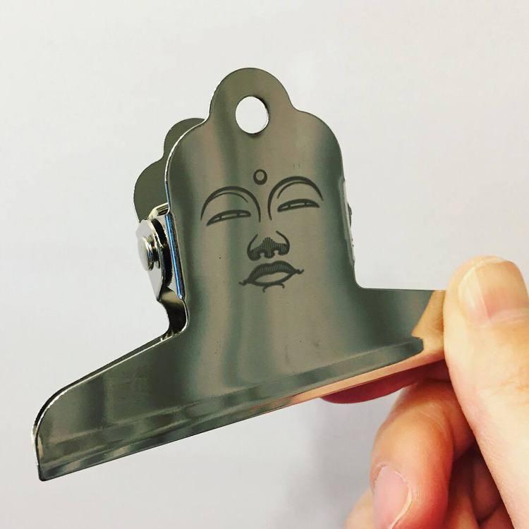 日本奈良文具設計品牌coto mono的超人氣「大佛夾子」275元(小款)。圖/...