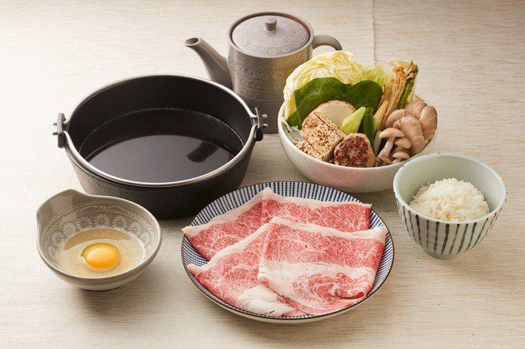 日本和牛壽喜燒,680元。圖/乾杯提供