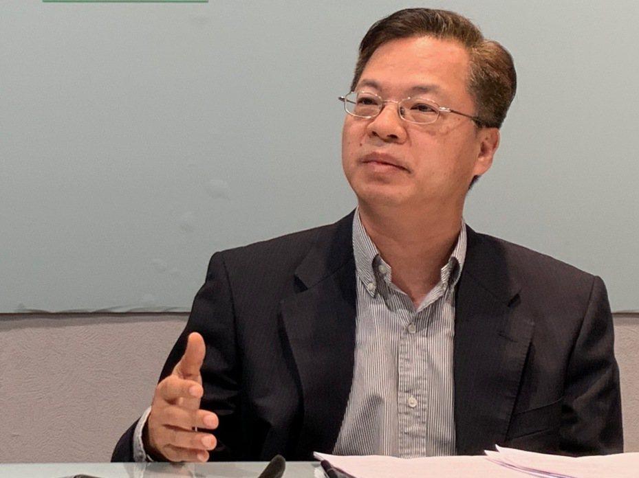 政務委員龔明鑫。記者林河名/攝影
