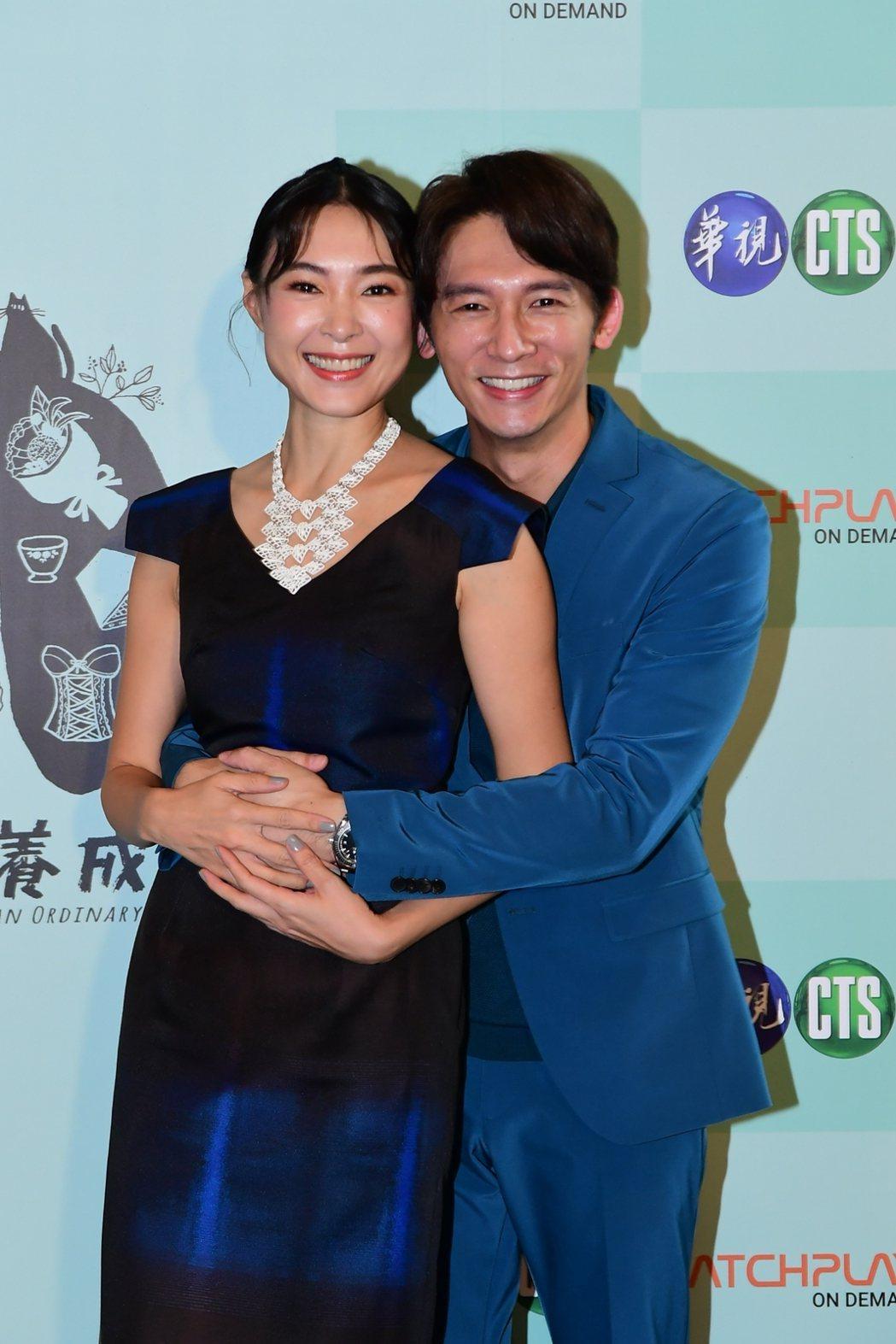 溫昇豪、曾珮瑜一年來已合作3部戲,超級有緣。圖/華視提供