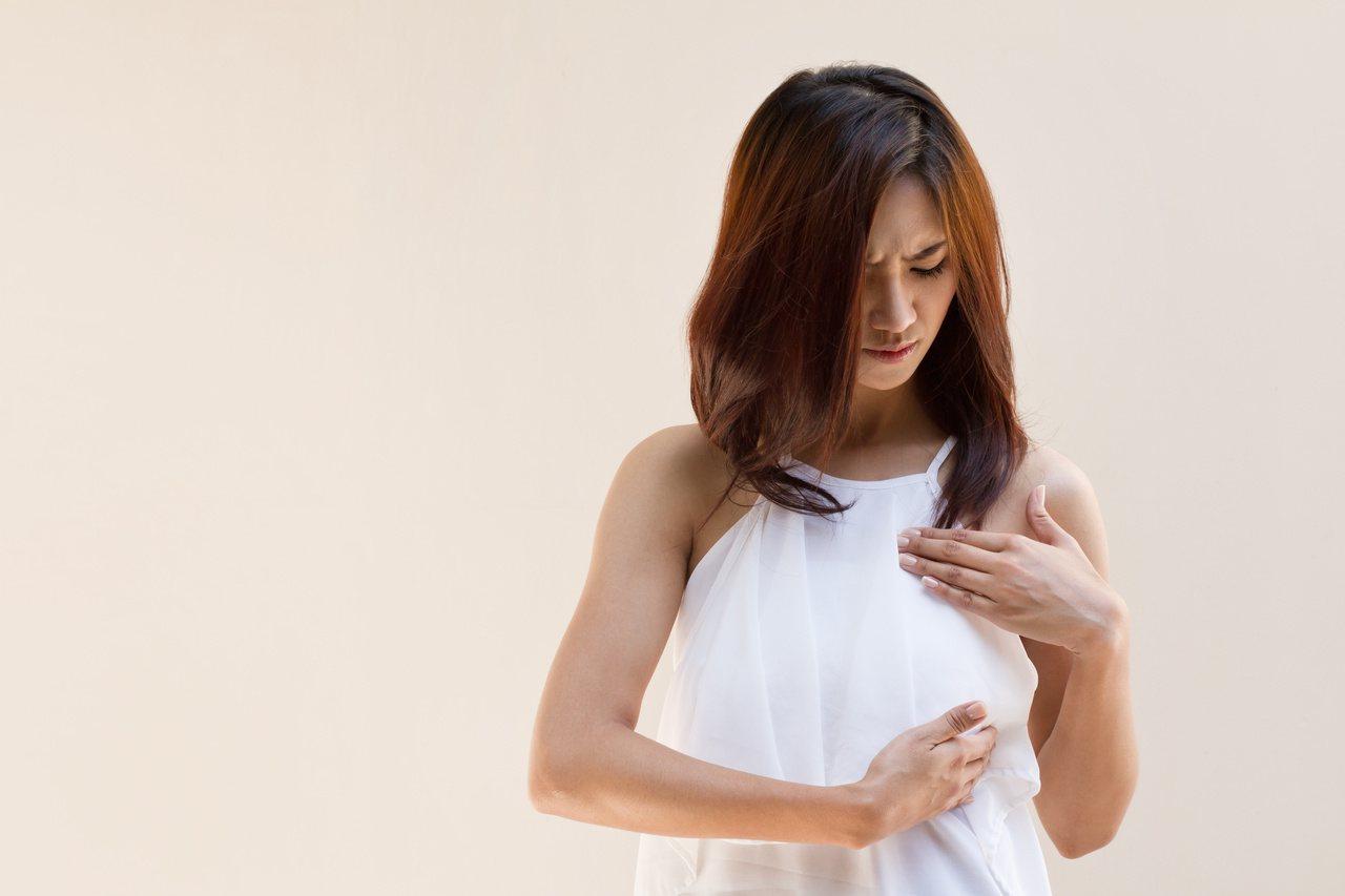年輕型乳癌患者可能面臨生育規畫,若打算懷孕,延遲時間是考慮的重點。 圖╱123R...