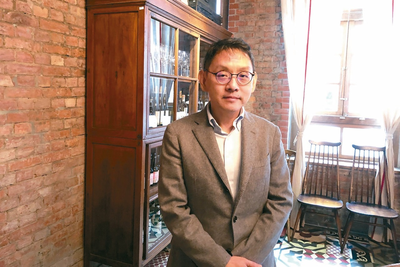 圖為瀚宇博德董事長焦佑衡。 記者尹慧中╱攝影