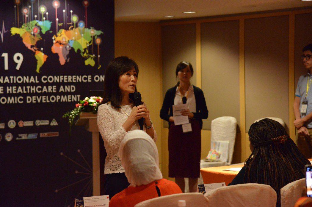 成大蘇慧貞校長積極推展新南向國際合作。 成大/提供